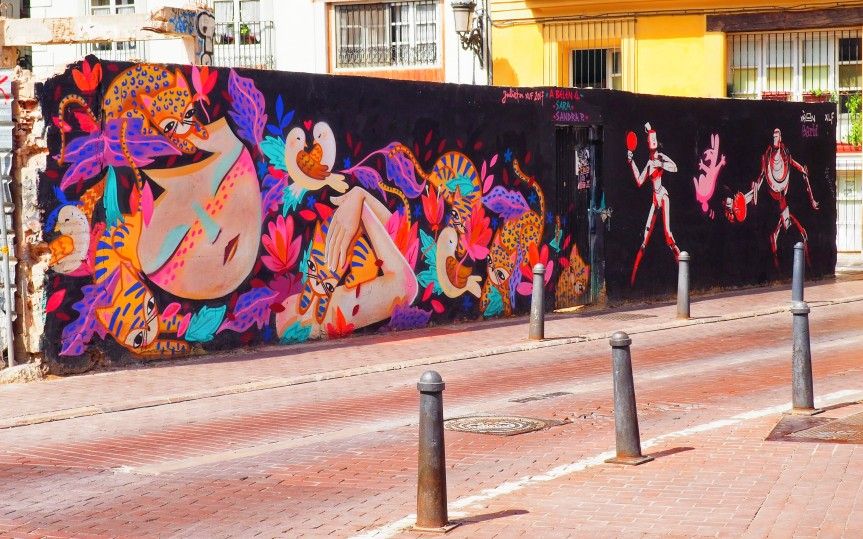 Valencia. A city of beautiful street art.