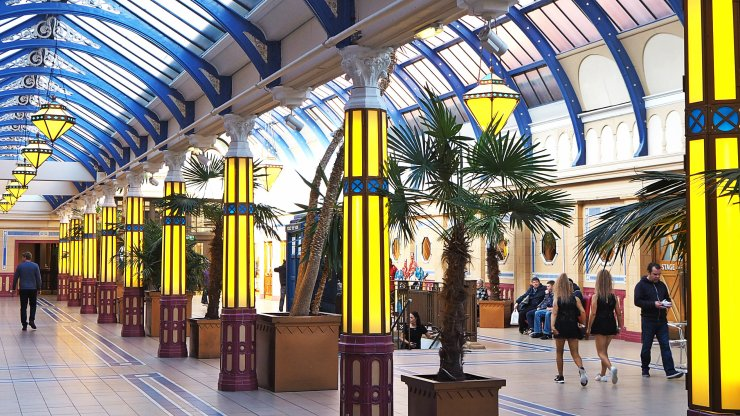 Art Deco Heaven at the Winter Gardens